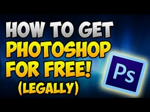 How To Get Photoshop For FREE! (LEGALLY) Download Photoshop