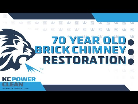 Reviving a 70 year old brick chimney in Newport Beach