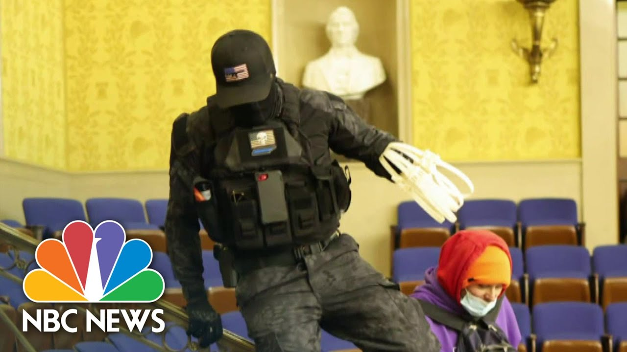 FBI Memo Warns Of Possible Armed Protests At All 50 State Capitols | NBC News NOW