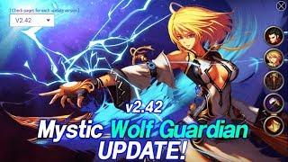 Kritika: The White Knights - Atualização 2.42 Mystic Wolf Despertar