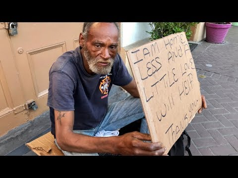 Homeless Man on the Streets After Losing His Wife. Now He Can't Find a Job.