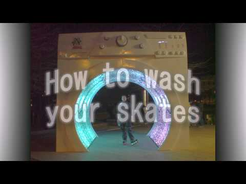 How to Wash Your Skates