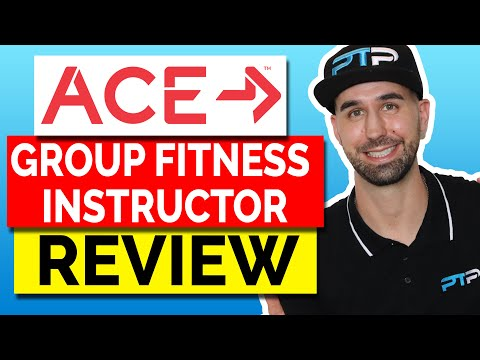 ACE Group Fitness Instructor Certification Review!