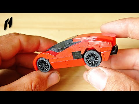 How to Build the Lamborghini (MOC)