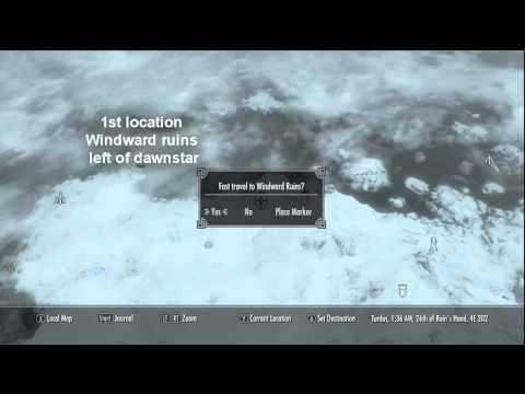 Skyrim Destruction Ritual Spell locations/read desc