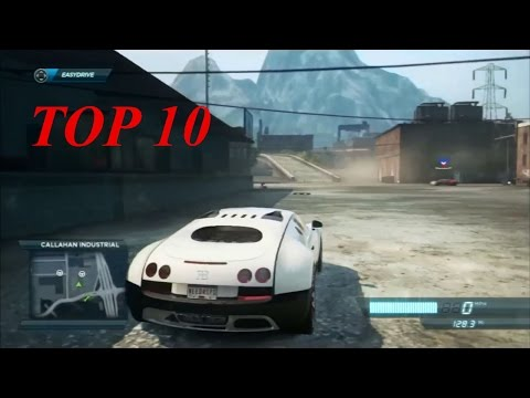 Need For Speed Most Wanted Top 10 Cars