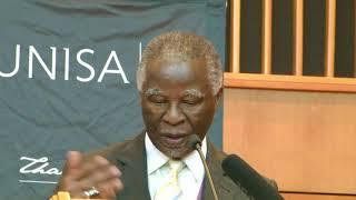 Thabo Mbeki answer hard questions - 22 March 2018