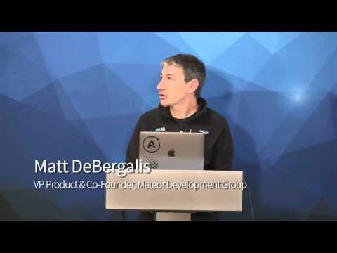 Product Roadmap and Strategy - Matt DeBergalis, MDG