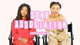 Chloe x Halle Sing Beyoncé, Lady Gaga and Tamia in a Game of Song Association   ELLE