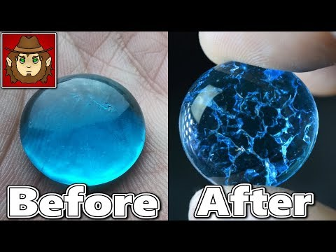 Easy, Cracked Marbles & Gems. For Fantasy & Crafts. Amazing and Cheap!