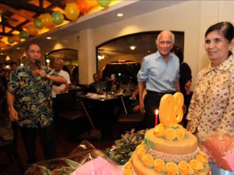 Nanay Lina Barbeyto Catanyags 80th Birthday Party