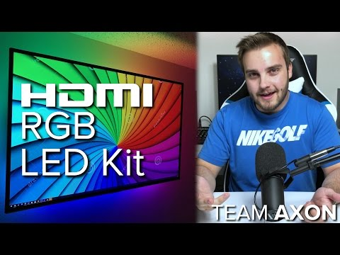 $15 LED Strip vs. $250 HDMI Ambilight Kit - Lightberry HD Review / Editorial