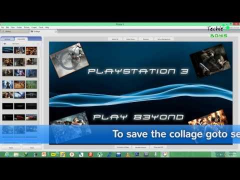 How to make picture collages with picasa easy HD tutorial