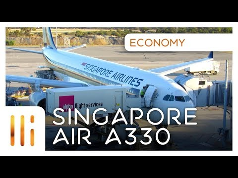 Singapore Airlines A330 ECONOMY REVIEW: Perth to Singapore