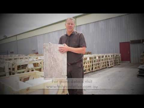 Travertine silver pavers & tiles