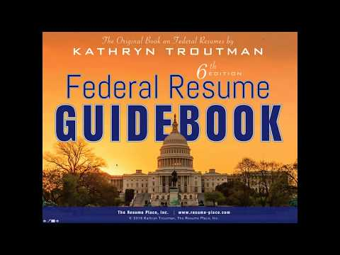 Federal Resume Writing Introduction and Creating Your First Resume 45 min  2 11 16, 8 02 AM