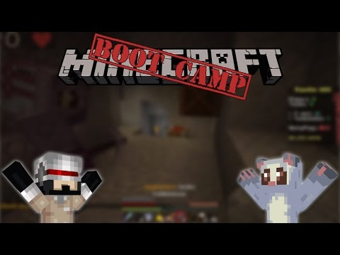 Minecraft Bootcamp (Vanilla UHC ft. Netty Plays) Calm Before The Storm! #4