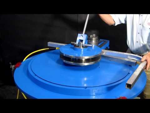 SQUARE Tube Bending Machine, Aluminum Tube Bender1.5 IN X 1.5 IN X .125 IN WT