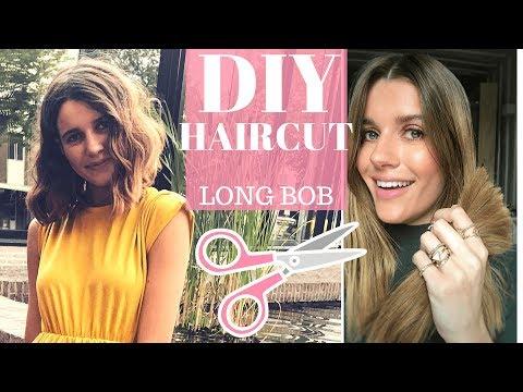 DIY: LONG BOB HAIRCUT TUTORIAL✂️ HOW TO CUT YOUR OWN HAIR