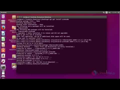 How to Create Bar Code and QR Code in Ubuntu