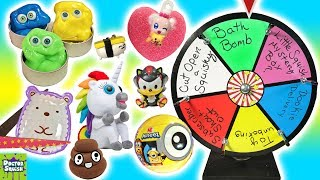 Download Wheel of Squish! Cutting Open Squishy Toys With Jose and the Putty Peeps! Doctor Squish Video