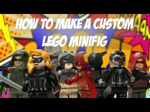 How To Make Your Own LEGO Custom Minifig! Tutorial
