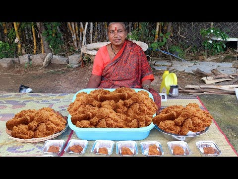 KFC Chicken Recipe | KFC Style Fried Chicken Cooked by Our Grandma
