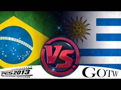 [TTB] GOTW Series - PES 2013 - Brazil Vs Uruguay - #19 - Confederations Cup Semi Final