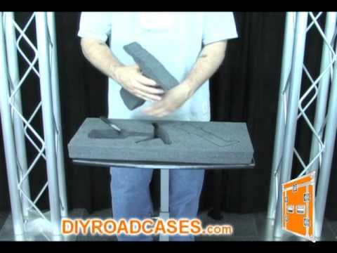 DIY Road Cases ® Featuring Larry Cox - Custom Foam Cutting