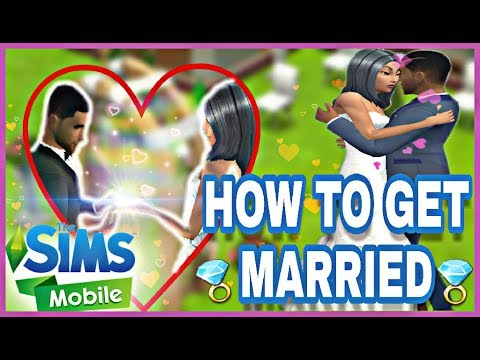 How To Get Married On The Sims Mobile!
