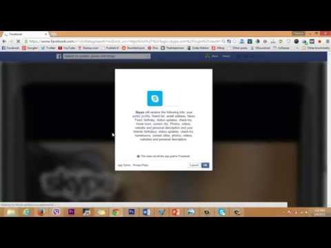 How to Make Skype account using facebook Account