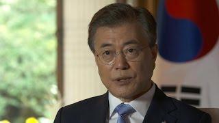 S. Korean President Moon on N. Korea, Warmbier