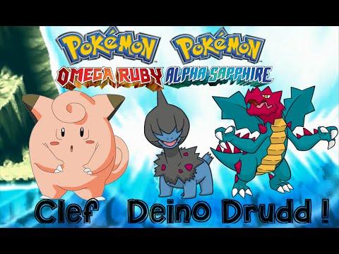 Pokemon Omega Ruby and Alpha Sapphire HOW TO CATCH/GET DEINO, CLEFAIRY, DRUDDIGON with dexnav!