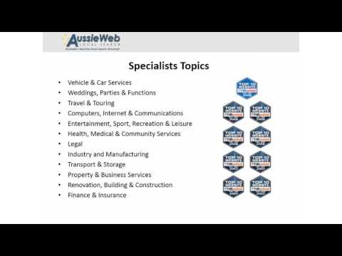 Online Business Directory Australia -  AussieWeb Pty Ltd