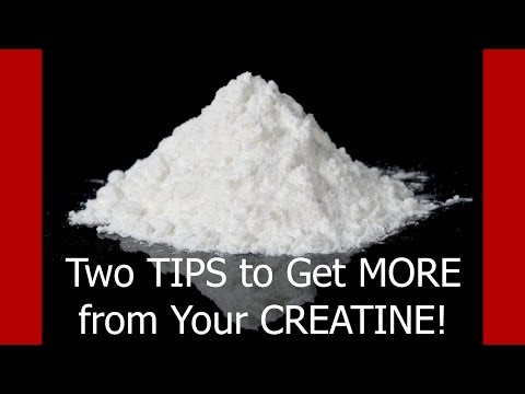 Two Tips To Get More from Your Creatine Monohydrate