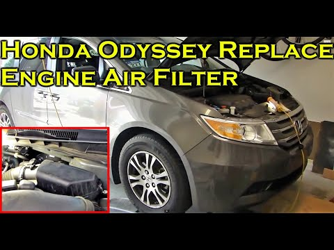 Honda Odyssey - Replace Engine Air Filter 2011 - 2017
