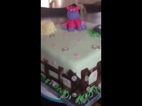 Pink Horse Cake