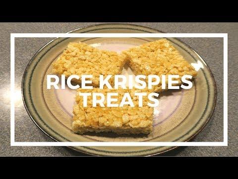 3 Ingredients Rice Krispies Treats!