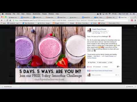 how to create a FB event for a free challenge group