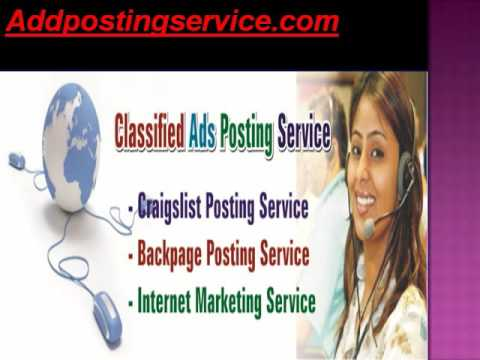 Addpostingservice.Com  - Buy CL PVA  Accounts | Hire Craigslist  Add Poster