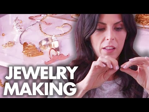 Learning How to Make Jewelry w/ Mr. Kate (Beauty Trippin)