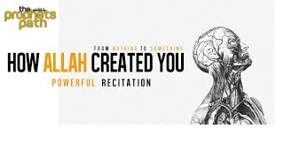 How Allah Created You ᴴᴰ - From Nothing To Something - Powerful Recitation