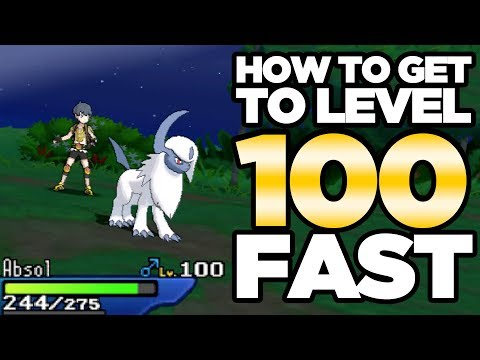How To Get to Level 100! Level Up Fast Guide for Pokemon Ultra Sun and Moon   Austin John Plays