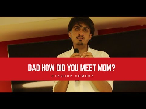 Dad, how did you meet Mom?