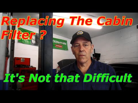 How To Replace The Cabin Filter On A 2014 Ford Fusion