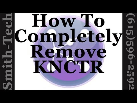 How To Uninstall The KNCTR Internet Phone Application