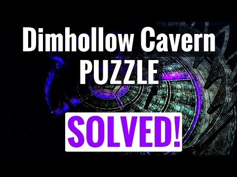 Skyrim REMASTERED - How to Solve the Dimhollow Crypt Brazier PUZZLE | Dawnguard