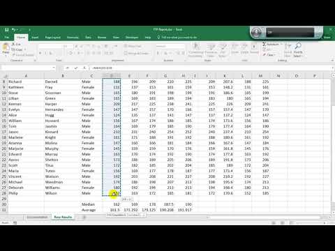 Excel 2016 Project 24 Q 01 to Q 21
