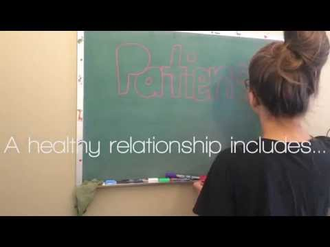 Natalie Kulaga's 3 Words for a Healthy Relationship- CHS 102