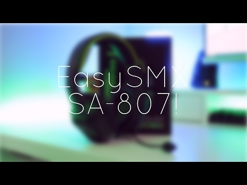 Quick Look: EasySMX SA-807 Gaming Headset!